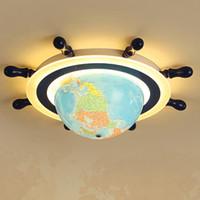 Çocuk Odası led Tavan Işık Göz Koruması Yatak Odası Tavan Lambası Küre çocuk Bahçesi Anaokulu Karikatür led Aydınlatma Armatürleri