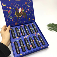 12pcs Silky Smooth Lipstick Set Merry Christmas Matte Lipsti...