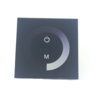 터치 패널 컨트롤러 12V 24V LED 램프 딤머 스위치 웜 화이트 콜드 화이트 레드 블루 그린 플렉스 스트립 싱글 컬러 밝기 조정 가능