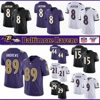 8 Lamar Jackson Baltimores Football Jersey Raven 89 Mark Andrews 15 Marquise Brown 29 Thomas III 9 Tucker 21 Ingram II 44 Humphrey Jerseys