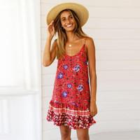 Elbiseler Seksi Straplez Plaj Elbise Parti Çiçekli Elbise Bayanlar Gevşek Baskı Jumpsuit Giyim Sıcak Tasarımcı Kadınlar