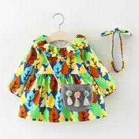 good quality Fashion Baby set Girls clothes 3PCs Long Sleeve...