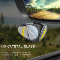Neue Auto-Blind-Spiegel Spiegel Weitwinkelspiegel 360 Rotation Einstellbare konvexe Rückansicht
