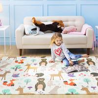 Baby Play CAT XPE головоломка детский коврик утолщенная лампа infantil детская комната ползание колодки складной коврик