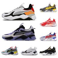 2020 Top Chaussures de PumaChaussures RS-X Zapatos Scarpe réinvence Chaussures de course pour hommes Femmes Fashion Marque Designers Sneakers 36-45