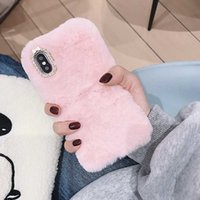 Custodia soffice Furry per iphone 11Pro caso caldo regalo TPU per l'iphone xs 6 7 8 Samsung S20