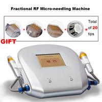 2021 Высокотехнологичная радиочастота MicroNEDLE РЧ фракционные анти-морщины, укрепляя кожу, подтягивающее затягивание рубцов.