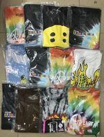 2019 camisa 19SS Cactus Travis Scott Astroworld Sicko Tee T das mulheres dos homens de alta qualidade Tie tingimento Hip Hop camisetas S-XL