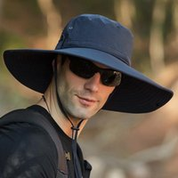 Waterproof Men' s Bucket Hat Outdoor Sun Protection Fish...