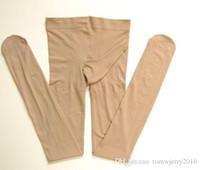 Nuovo arrivo Plus size Moda uomo sexy manica del pene aperta / Non aperto calze 80D velluto di spessore Collant Maschio alta salute elastica Collant