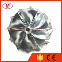 K04 54,00 / 70.00mm 6 + 6 lames Turbo roue de compresseur billettes / Aluminium 2618 / roue de fraisage pour Turbocharge cartouche / LCDP / Core