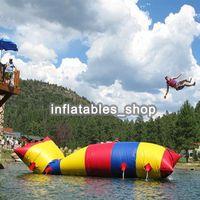 شحن مجاني 5x2 متر نفخ فقاعة الماء القفز وسادة فقاعة الماء القفز كيس الهواء نفخ الترامبولين للبيع