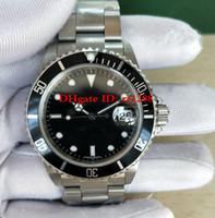 ヴィンテージ時計BPレトロウォッチ40mm 16610 116610Lnビンテージ自動2813 50周年記念ダイブリストウォッチメンズウォッチアンティーク時計
