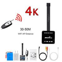 جديد حقيقي 4K 60FPS 4096 * 2160 13MP H.265 WiFi كاميرا RC 1080P اللاسلكية P2P فيديو DV وحدة كاميرا الفيديو