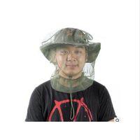 야외 정글 모험 작업 방지 모기 머리 모기 그물 모기 거즈 마스크 곤충 보호망