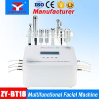 7 EN 1 multifonctionnel Facial Machine Microdermabrasion Oxygen Spray Soins de La Peau Activation Micro Courant RF Levant Galvanique Beauté Equipement
