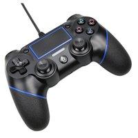 PS4 السلكية وحدة تحكم للبلاي ستيشن 4، المهنية USB PS4 السلكية غمبد (أسود السلكية)