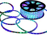 2 Rope LED legare luce 8 Lighing Mode, 110V / 220V 328ft luce della stringa impermeabile, ideale per uso esterno dell'interno, Sfondo Illuminazione decorativa