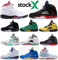 2020 New 5 5s Top 3 Fire Red 3M Satin Bred Oregon Ducks PSG ...