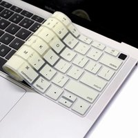 EU US for Macbook Keyboard Cover 2018 Silicon A1932 English ...