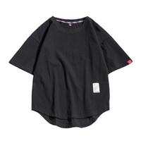 Camisetas para hombre 5xl Hip-Hop Black T Shirt Hombre O-Cuello más Tamaño Tshirt Summer Sport Fashion Streetwear Hombres con estilo Fitness Casual Tees