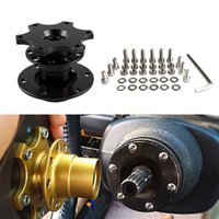 US Stock Universal Steering Wheel Quick Release Boss Kit Racing Car Ratt har i lager RS-QR001