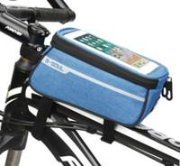 ساخنة جديدة للدراجات دراجات للماء الإطار الأمامي أنبوب حقيبة تعمل باللمس حقيبة الهاتف الخليوي حالة أربعة ألوان شحن مجاني