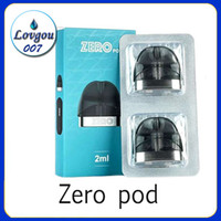 Zero Pod 2ml Cartridge 2pcs pack Main PCTG Material for Zero...