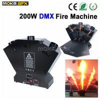DMX feuer maschine spray lpg flamme maschine Flamme Projektor Sicher zu 3 Schuss Gas DMX 512 bühneneffekt maschine