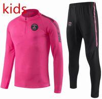 363f59f6fc612 Wholesale psg jacket for sale - kids Psg tracksuit psg soccer jogging  jacket Paris child Football