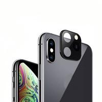 ثواني تغيير غطاء عدسة معدنية لفون 11 برو ماكس لين يغطي iPhonex XSMAX XS كاميرا حماية الملحقات