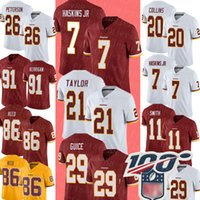 7 Dwayne Haskins Jr Washington # Redskin Jersey 21 Sean Taylor Derrius Guice Jersey 20 Landon Collins Adrian Peterson Ryan Kerrigan 91
