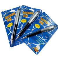 Ударная ручка первоапрельская шутка заставит ваших друзей смеяться с электрическими шокирующими игрушками для розыгрышей, которые действительно пишут