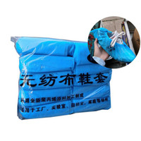 Disposable Shoe Covers Non Woven Anti Dust Non Slip Home Out...