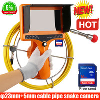 40M dvr recorder meter counter Drain Endoscope Pipe Inspection Camera Pipe Sewer Camera Waterproof Pipe Plumbing Camera 12Pcs LED