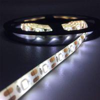 Flexible LED-Streifen-Lichter DC 5V Daylight Weiß 6000K, 3000K, einreihig SMD2835 Wasserdichte LED-Band-Streifen-Lichter