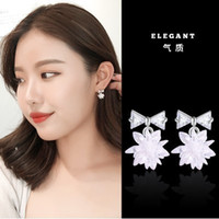 고급 디자이너 귀걸이 보석 여성 귀걸이 15 스타일 패션 진주 이어링 술 귀걸이 무료 배송 NE1051-2