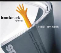 4adet Seti PP Çoklu Yardım Me İmi Kağıt Klip Çağrı Etiket Parmak Şekilli İmi Masası Aksesuarları Ofis Okul HA567 Malzemeleri
