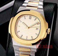 Rose Gold Stalinless Steel Luxury Blue Dial Date Automatic M...