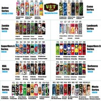 18650 20700 21700 Isolation Batterie Enveloppement de la batterie PVC Shrink Shrink Sticker Sticker Heat Shrink Re-Emballage pour les batteries