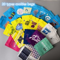 Hot 20 tipi di tipi Biscotti California SF 3.5g Bandi Mylar Bianco Runtz Georgia Pie Minntz Cake Mix Touch Skin Skin Limone Nade Bag Packing