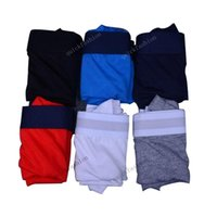 6pcs / lot Luxo Designer Mens Boxer Brief Underwear Shorts Men Sexy Vintage Roupa Casual Curto Moda Cotton Masculino Gay Boxer Brief