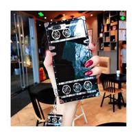 Luxury Designer Phone Cases pour iPhone 11 Pro Max XR 6 7 8Plus modèle de mode Cas de téléphone pour Samsung Galaxy Note 10 S8 9