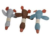 10PCS Wholesale Fashion Stylish Dog Toy Cute Dog Plush Toys For Small Medium Large Dog Squeaky Toys Pet Funny Play Toy