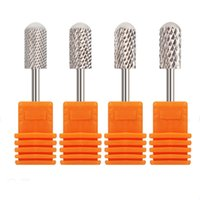 YOVIBIT 2PCS LOT Sliver Cone Nail Drill Bits For Electric Dr...