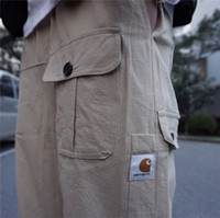 19ss Carhart Multi- pocket design for Japanese overalls , mul...