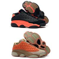 862fd7233142 New Arrival. 13s Mens Basketball Shoes 13 CLOT x Low Sepia Stone Canteen-Terra  Blush Men Women Designer Sports ...