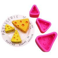 الجبن كتلة الشكل سيليكون الخبز العفن اليدويه تزيين الكيك قالب الإبداعية موس الشوكولاته أقراص سكرية قوالب شحن مجاني