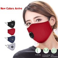 Reusable Face Masks Black With Respirator Carbon Fliter Padd...