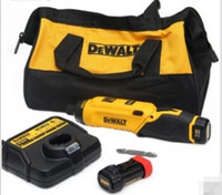 DeWalt 1-Tools 6,35 mm 20-Volt Max batteria agli ioni di litio Brushless Power Tool Combo Kit di batterie per batterie